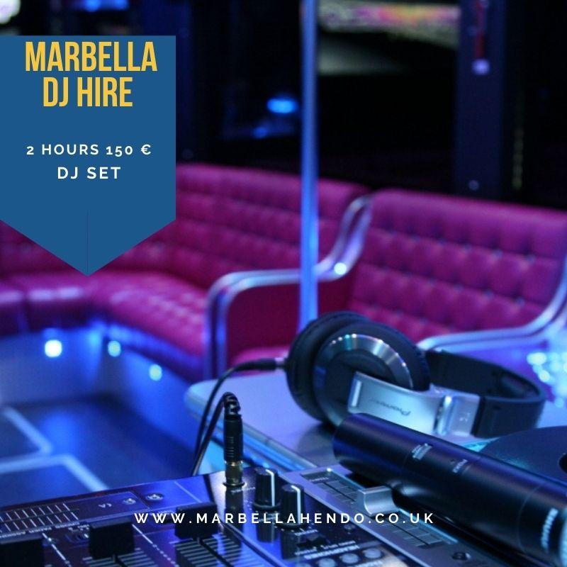marbella dj hire